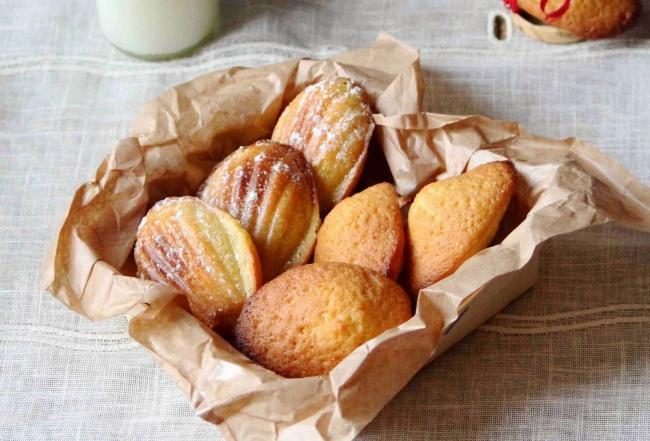 Печенье «Мадлен» за 15 минут
