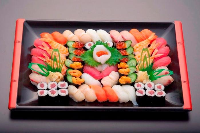 Экспресс-заказ суши на любое мероприятие