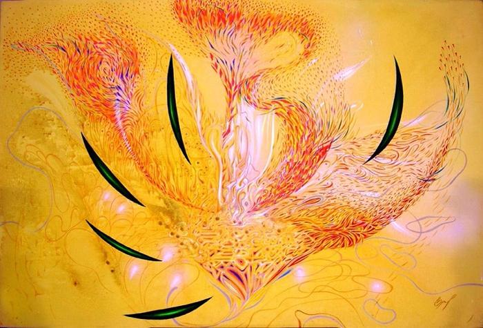 Космический цветок.. (700x475, 460Kb)