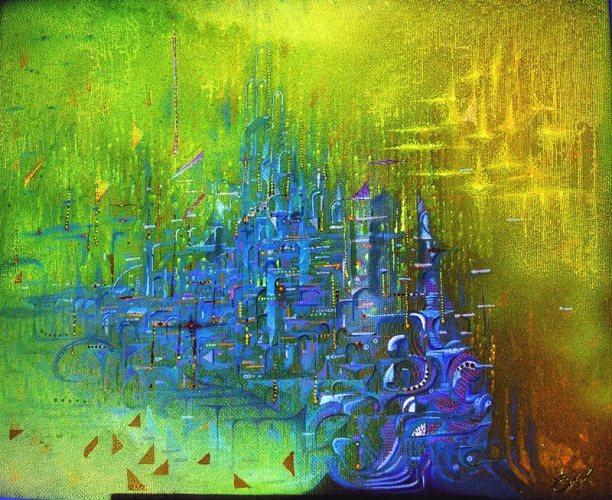 Сны города. (612x500, 451Kb)