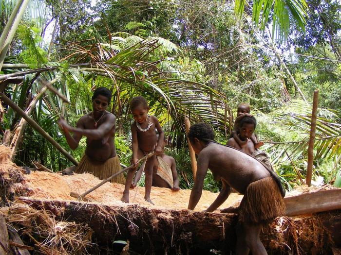 Порно секс в диких племенах141