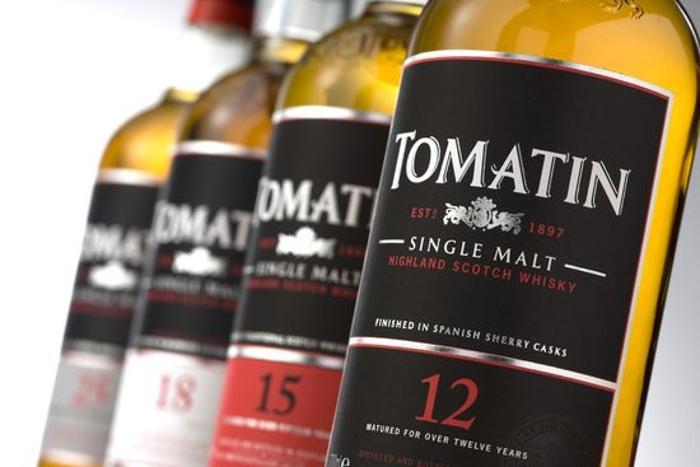 Виски Tomatin из Стран восходящего солнца