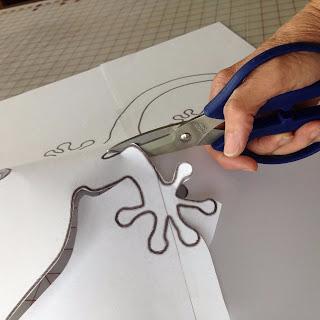 Ящерка из гальки - украшение handmade для сада (2) (320x320, 70Kb)