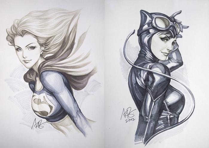 art-Stanley-Lau-DC-Comics-Supergirl-339481 (700x494, 285Kb)