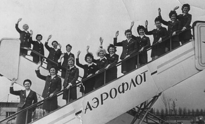 Кого брали в стюардессы в Советском Союзе