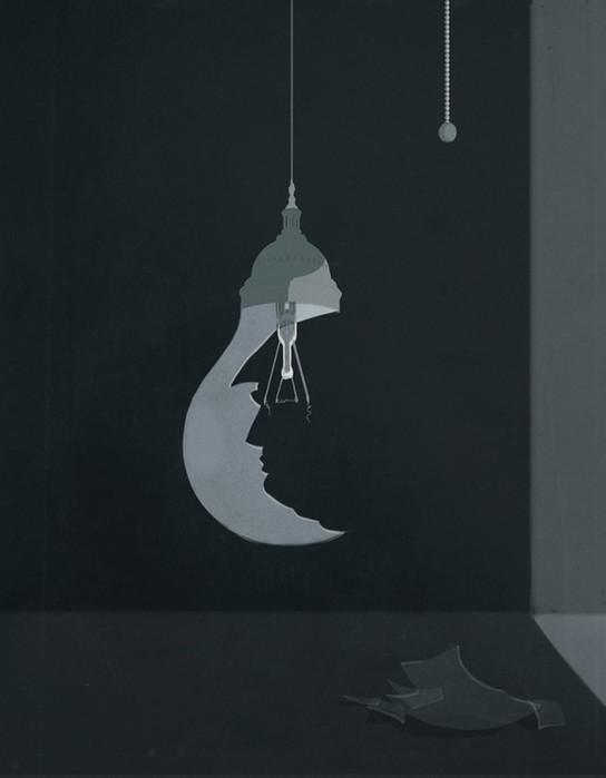 Концептуальные иллюстрации от итальянца - вызов интеллектуалам