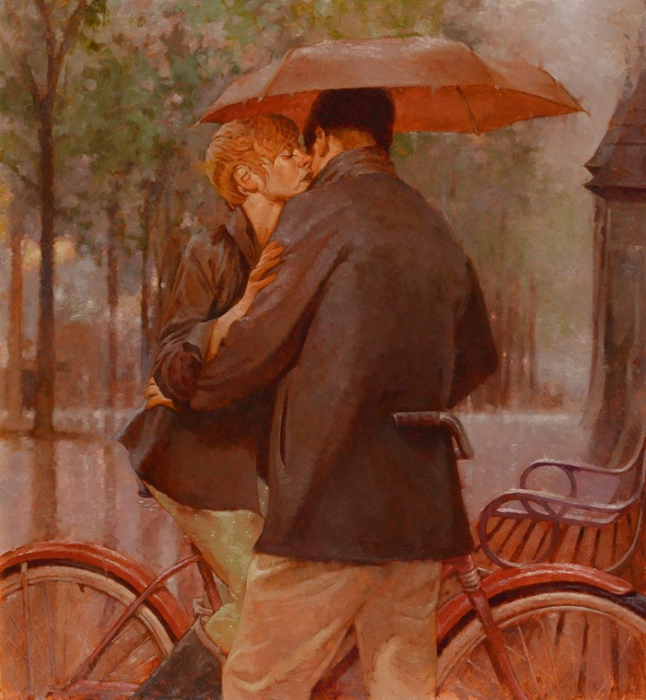 Joseph Lorusso - Kisses In The Rain (1) (646x700, 452Kb)