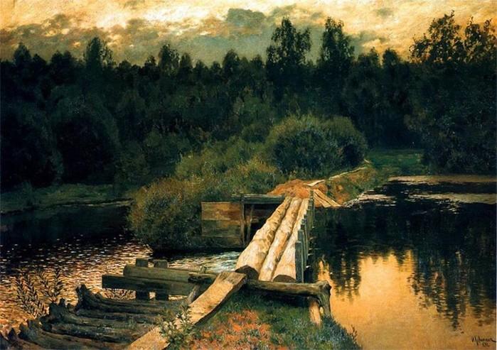 Исаак Левитан— интересные факты из жизни русского художника