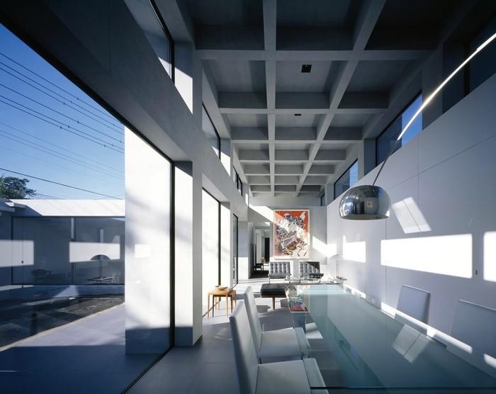 Японский минимализм в интерьере: чрезвычайно простая планировка