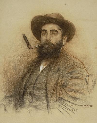 800px-Ramon_Casas_-_Self-portrait_-_Google_Art_Project_(559678) (400x506, 92Kb)