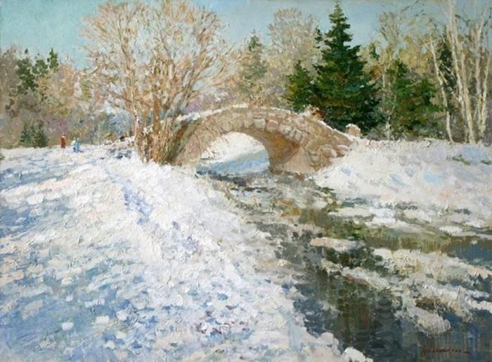 Картины художника Людмилы Баландиной
