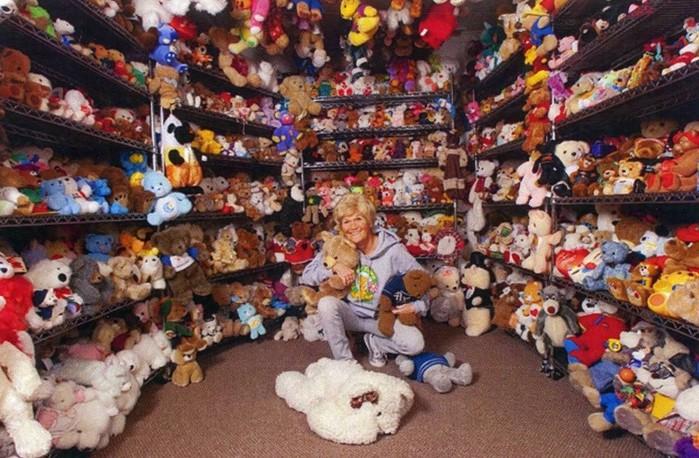 Как выглядит самая большая коллекция плюшевых мишек