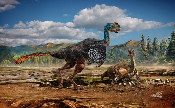 Чжао Чжуан — динозавры китайского иллюстратора