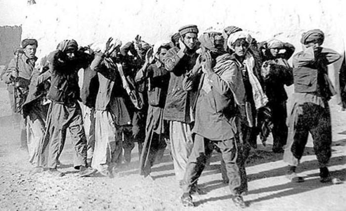 Как содержались пленные душманы на Афганской войне