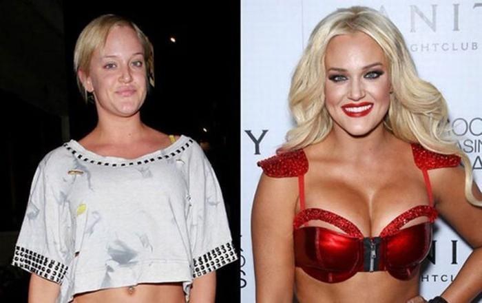 20 звезд без макияжа и фотошопа
