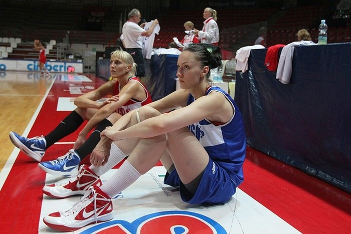 Российская баскетболистка — самая длинноногая женщина мира