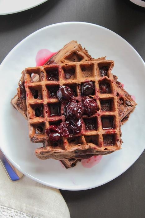 Dark Chocolate Waffles-4 (466x700, 92Kb)