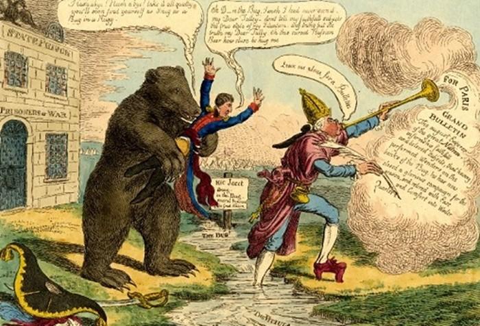 Почему русских стали сравнивать именно с медведями