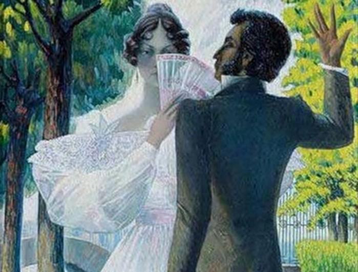 Какие отношения были между Пушкиным и Анной Керн