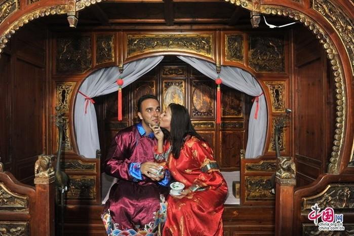Китайский праздник влюбленных для иностранцев