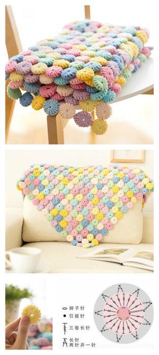 Crochet-Macaron-Stitch-Blanket-Video-Tutorial-p йо-йо пуф1 (514x700, 48Kb)
