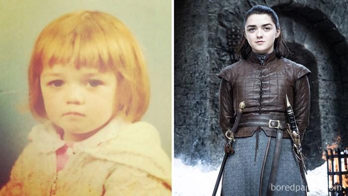 Актеры Игры престолов в молодости