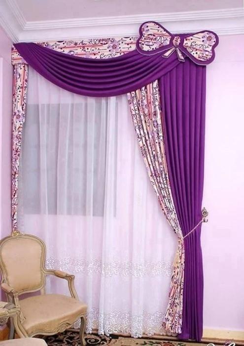Декорирование: Красивые варианты оформления окон