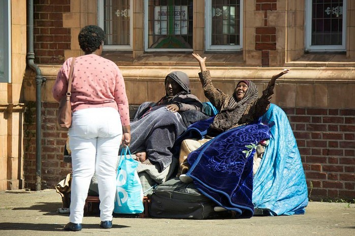 В Лондоне беженцы из Сомали отказываются жить в нормальных условиях