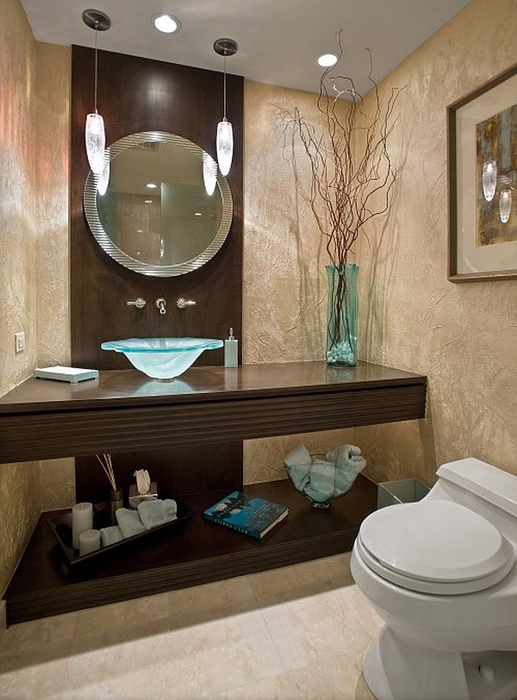 Gorgeous-Round-Shaped-Sink-on-Floating-Vanity-at-Guest-Bathroom-Ideas-with-Modern-Hanging-Lamp (517x700, 333Kb)