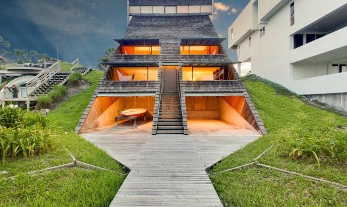 современная архитектура необычный дом 2 (700x418, 311Kb)