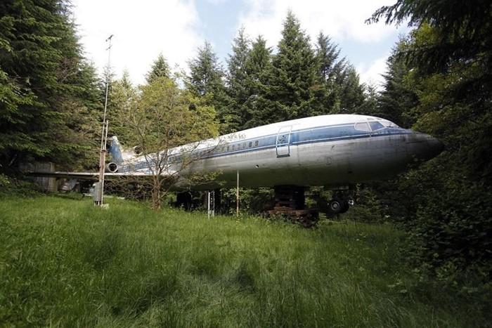 Американский пенсионер из Орегона построил дом из Boeing 727