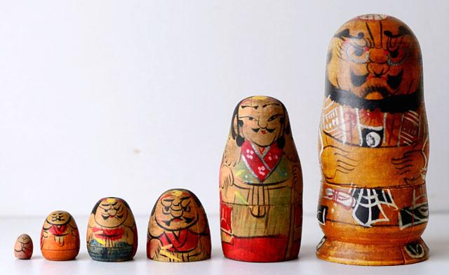 Матрешка   не русское изобретение