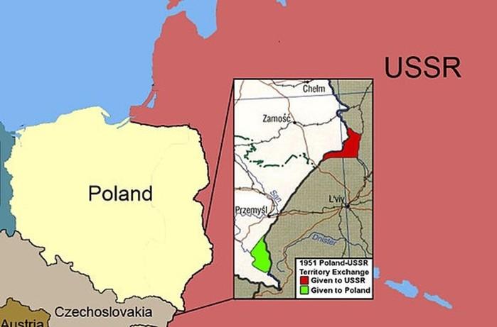 Зачем СССР и Польша обменялись территориями в 1951 году