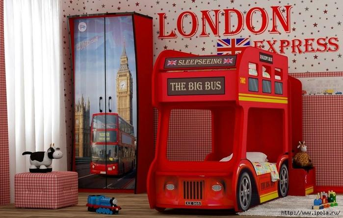 "alt=""Кровати машины для мальчика!""/2835299_LONDONSKII_AVTOBYS (700x446, 255Kb)"