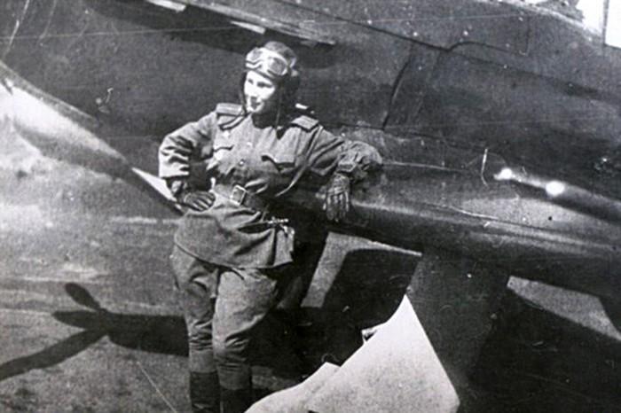 Летчик истребитель Лидия Литвяк