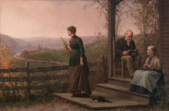 нни Августа Brownscombe (1850-1936) (700x460, 371Kb)