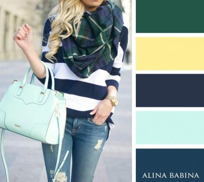 20 актуальных сочетаний цветов в одежде осенью. Этот сезон будет особенным!