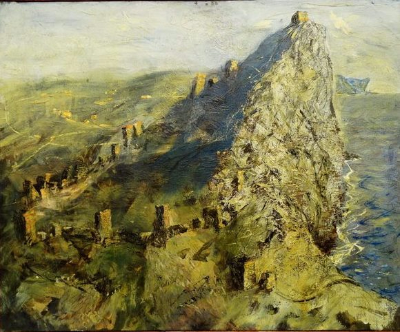 Амельченков Виктор Николаевич, 1938г.р. Крепость в Судаке (580x482, 270Kb)