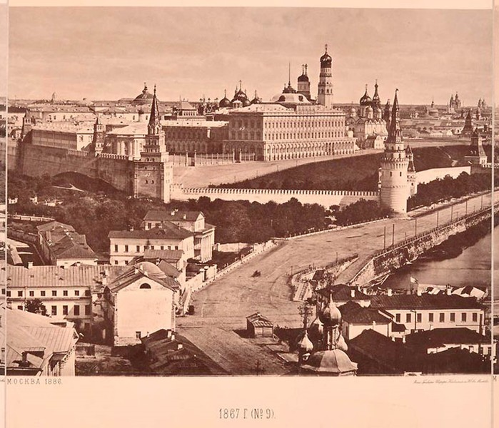 22 сентября 1839 года состоялась торжественная закладка храма Христа Спасителя