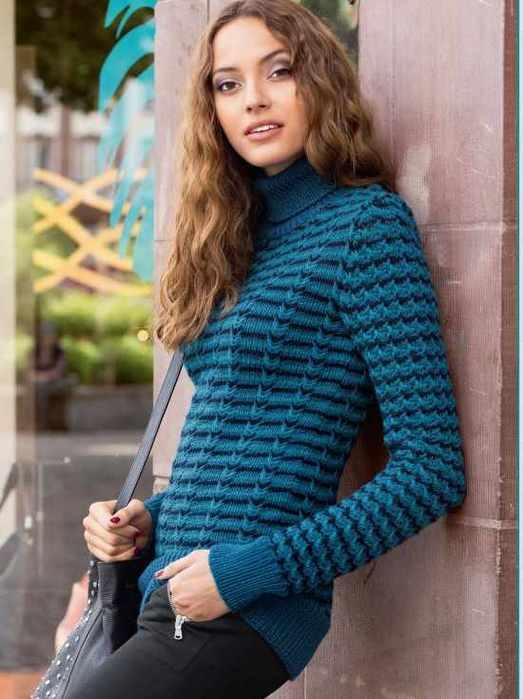 Пуловер с трехцветным узором из снятых петель/4512595_pulover_s_trehcvetnym_uzorom_iz_snjatyh_petel (523x700, 37Kb)