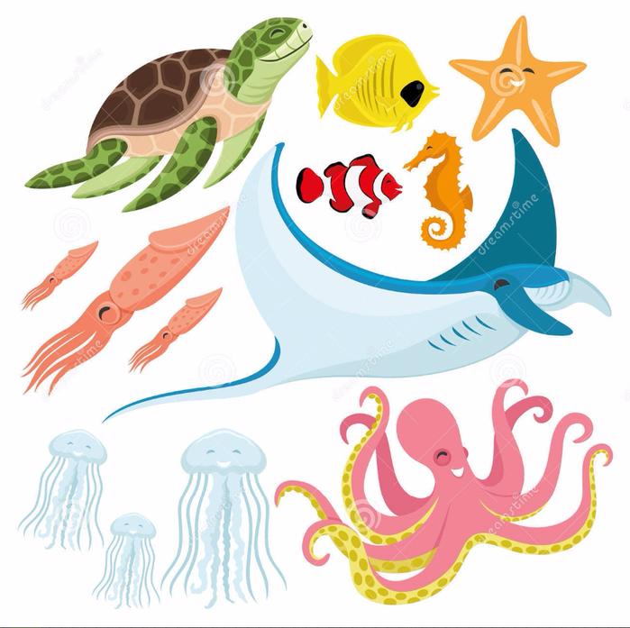 sea-turtle-fish-starfish-seahorse-squid-stingray-jellyfish-octopus-cute-set-78066568 (700x697, 409Kb)