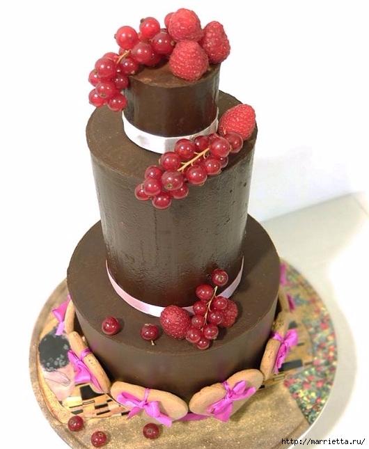Шоколадный ГАНАШ. Рецепт и идеи тортов (2) (530x645, 168Kb)