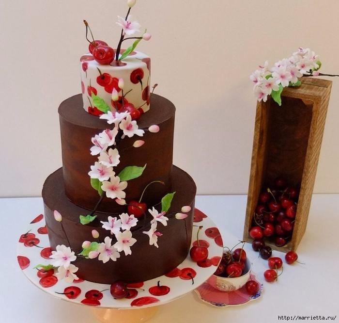 Шоколадный ГАНАШ. Рецепт и идеи тортов (4) (700x666, 283Kb)