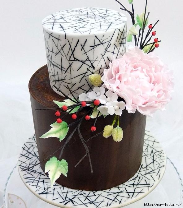 Шоколадный ГАНАШ. Рецепт и идеи тортов (7) (591x669, 262Kb)