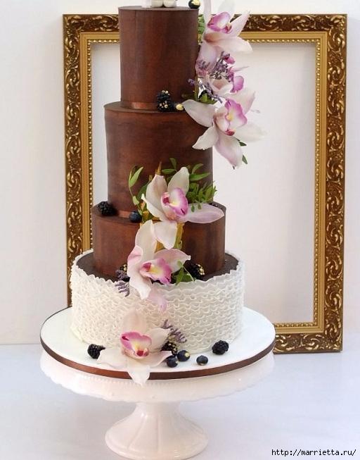 Шоколадный ГАНАШ. Рецепт и идеи тортов (10) (512x653, 196Kb)