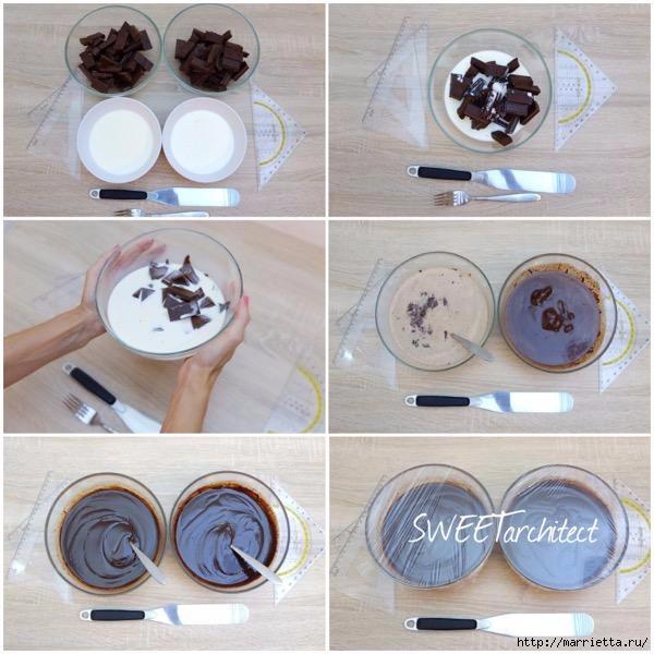 Шоколадный ГАНАШ. Рецепт и идеи тортов (15) (600x600, 188Kb)