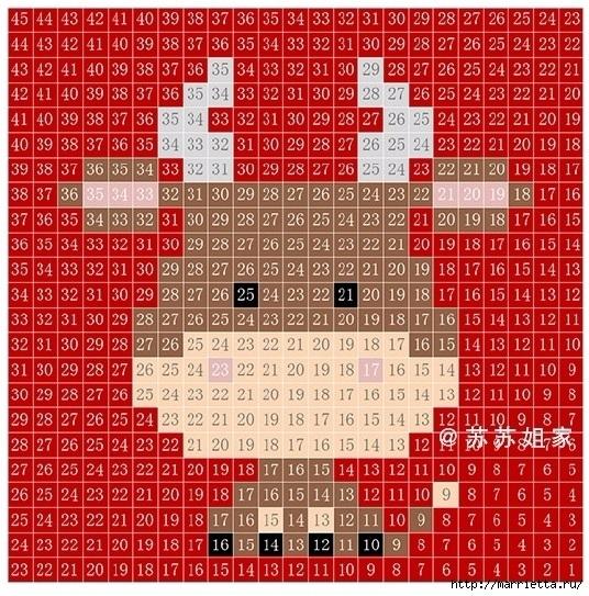 Детский плед крючком из мотивов со зверюшками (536x543, 347Kb)