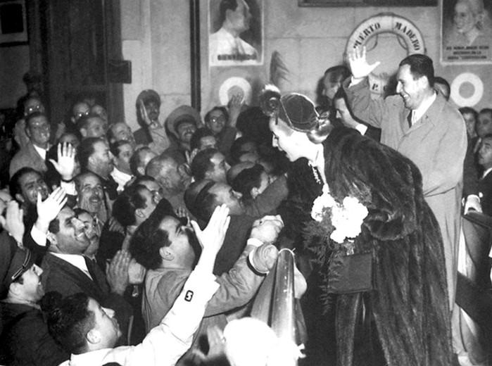 Эва Дуарте и Хуан Перон: не плачь, Аргентина!