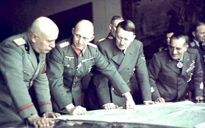 Планы Гитлера после победы над Советским Союзом