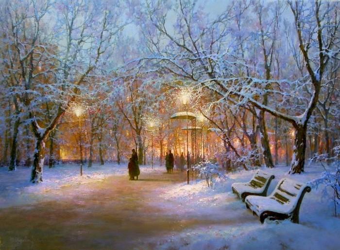 Творчество современного художника Ю.А.Обуховского